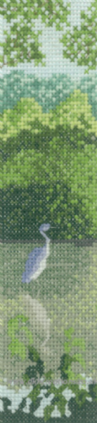 Blue Heron Cross Stitch Kit